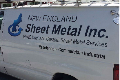 Hvac Mechanical Sheet Metal Duct In Cranston Ri